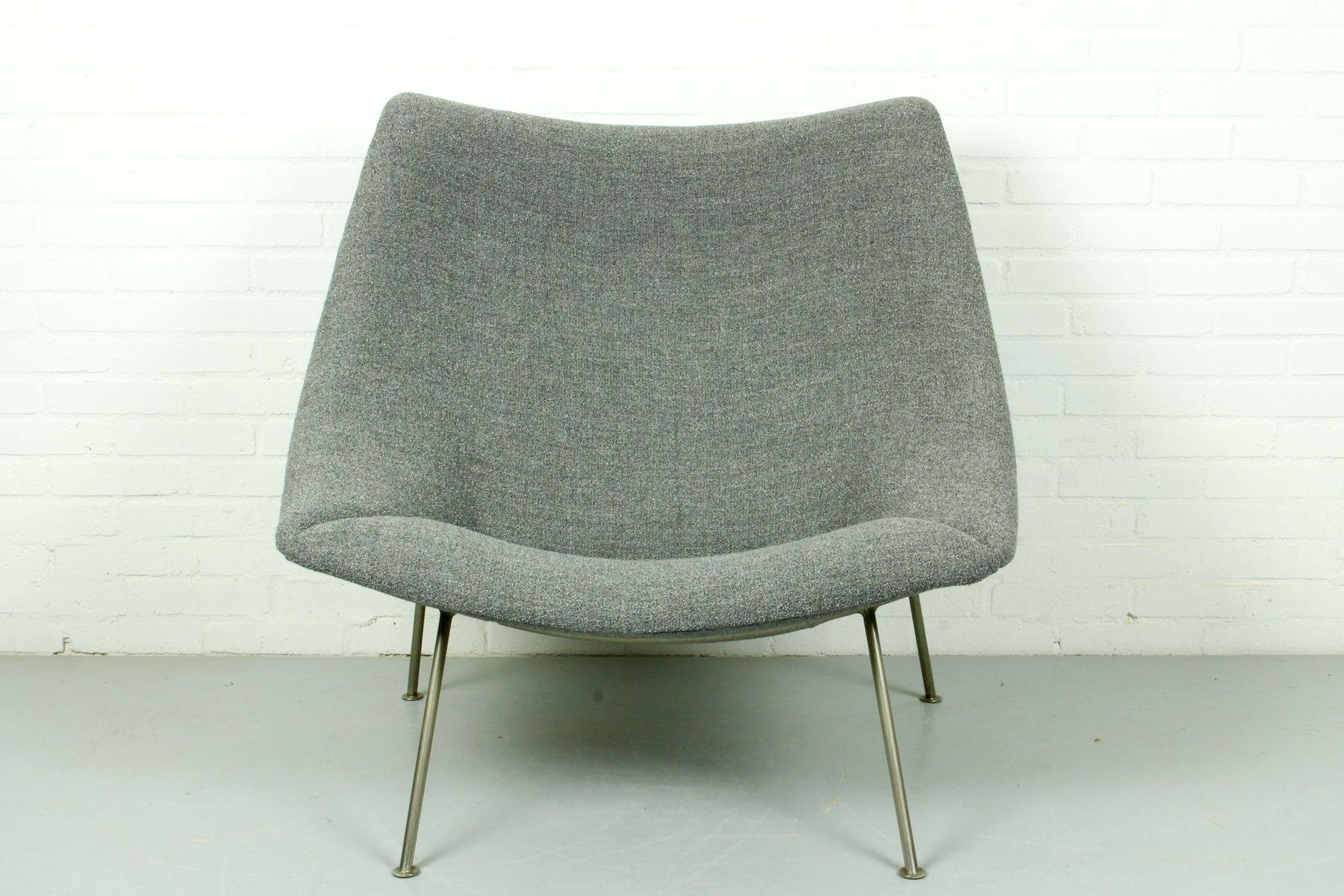 chaise mod le oyster vintage par pierre paulin pour artifort 1950s en vente sur pamono. Black Bedroom Furniture Sets. Home Design Ideas