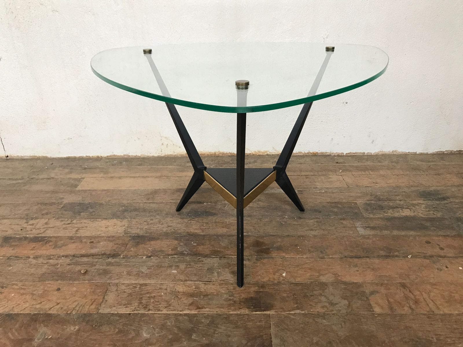 Tripod Coffee Table By Angelo Ostuni, 1950s