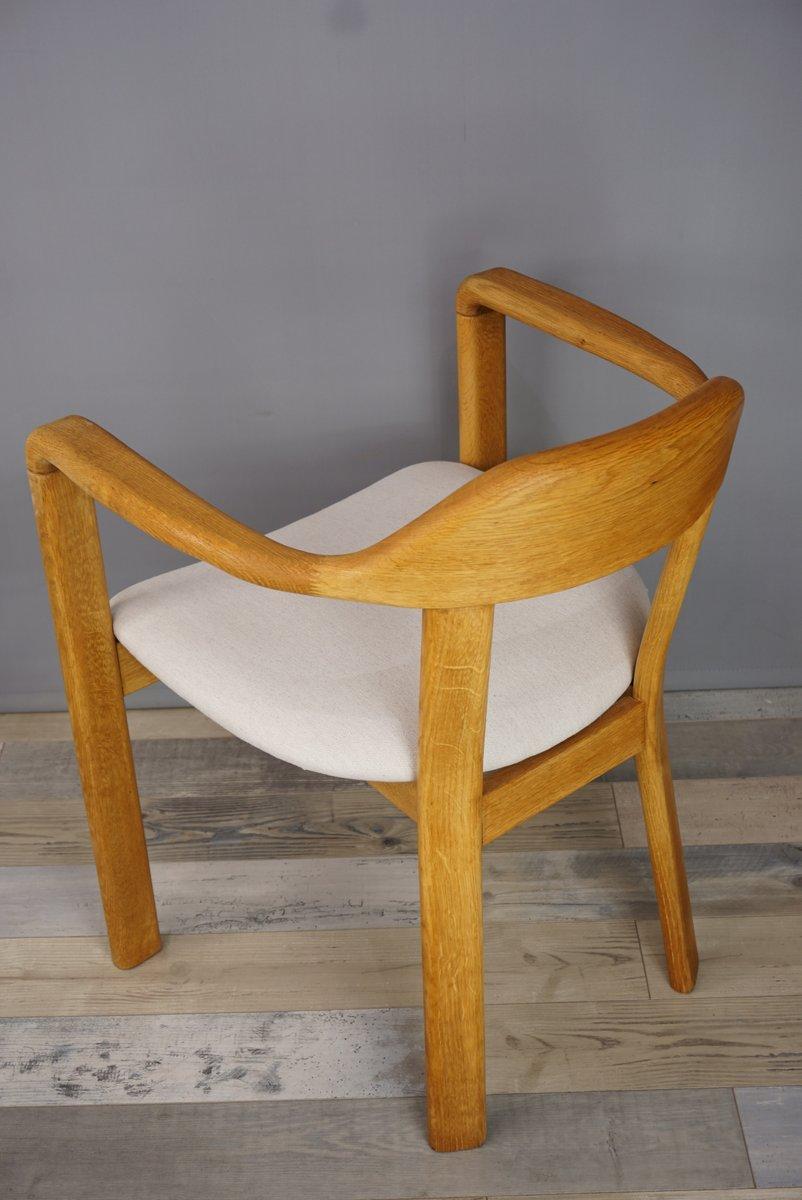 Runder Tisch Mit Stühlen : runder tisch mit 4 eichenholz st hlen 1980er bei pamono kaufen ~ Frokenaadalensverden.com Haus und Dekorationen