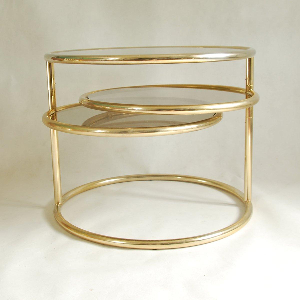 Französischer modularer Tisch, 1970er