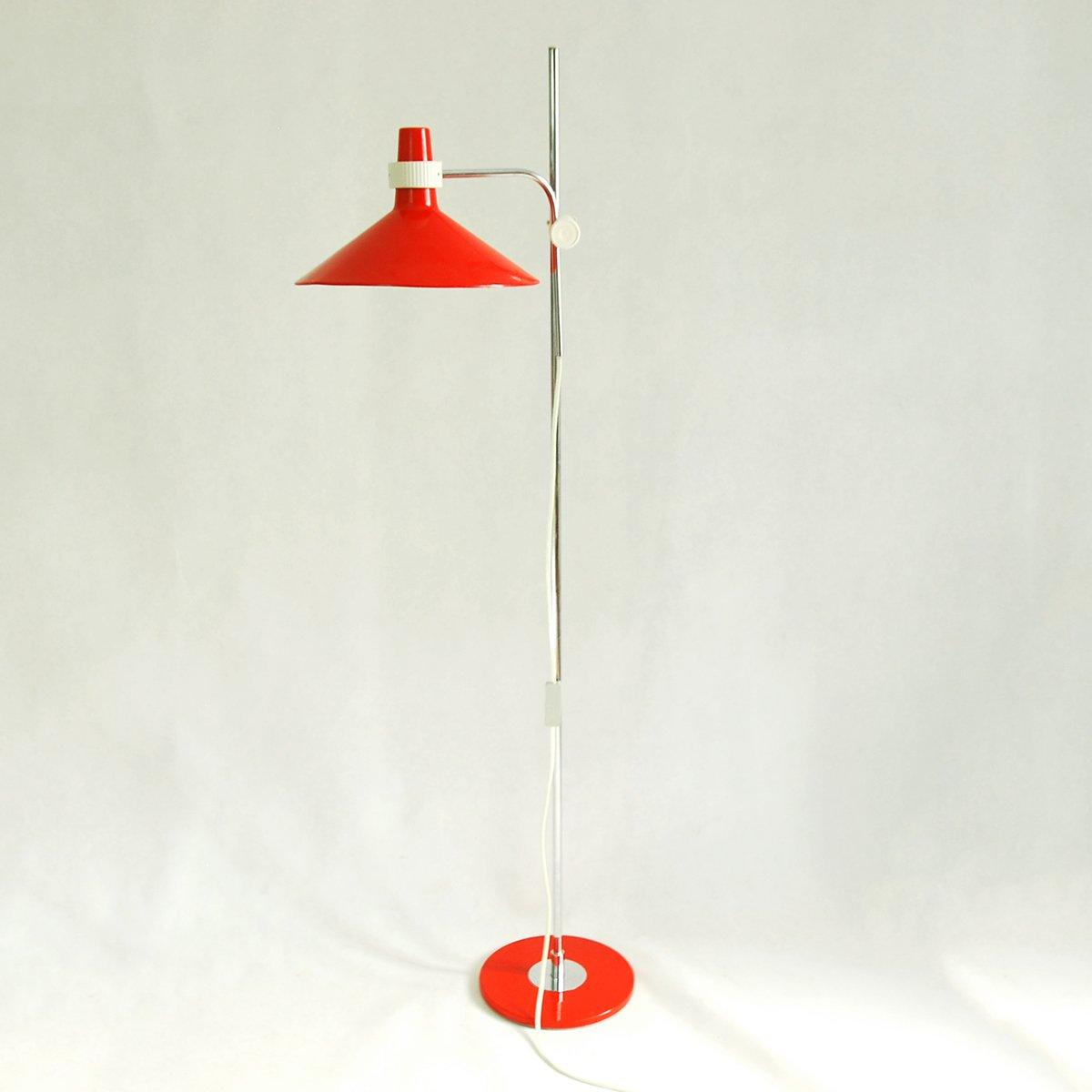 Modell 06-43 Stahl Stehlampe von Pokrok Zilina, 1960er