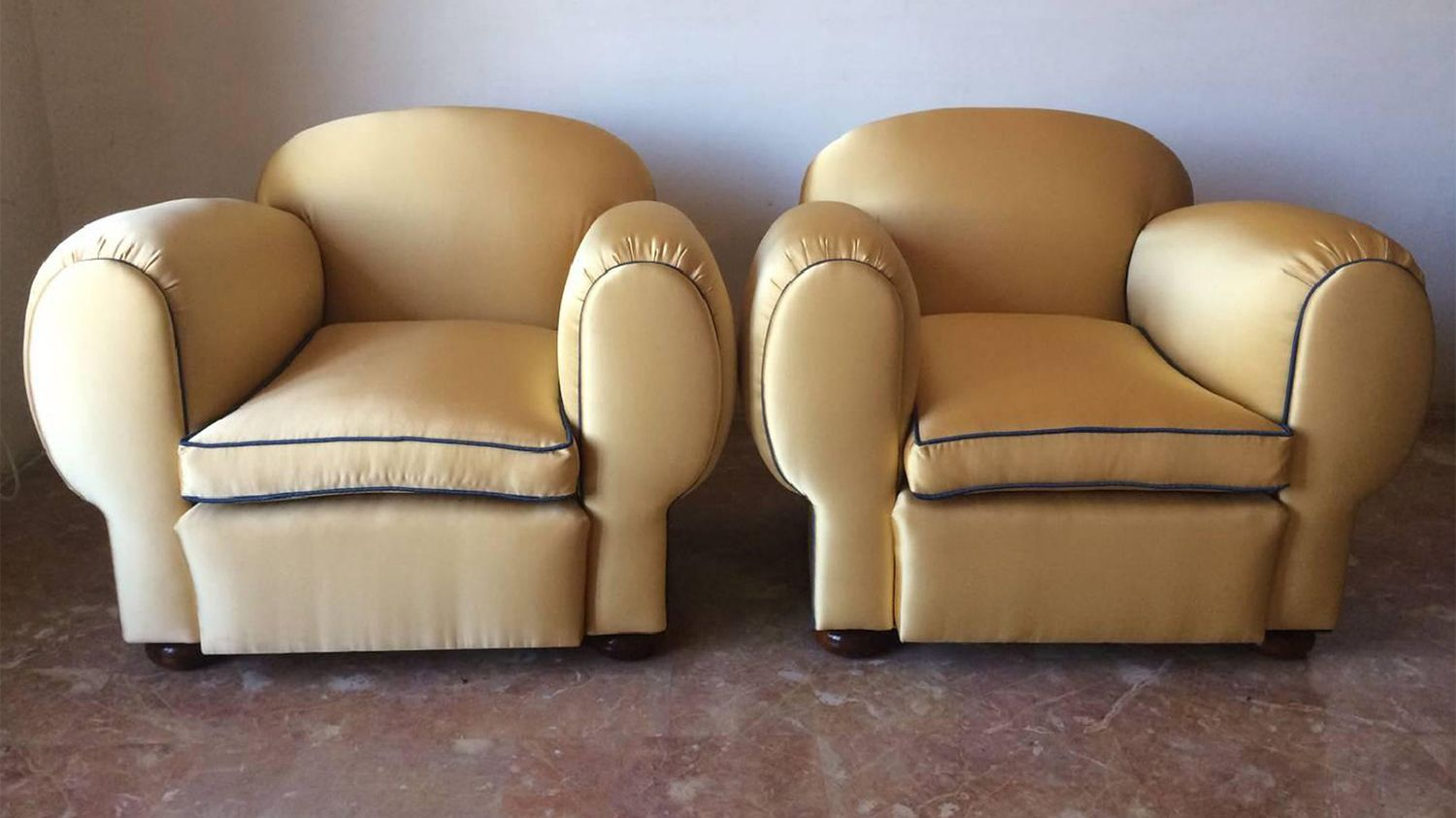 french art deco elephant armchairs 1940s set of 2 for sale at pamono. Black Bedroom Furniture Sets. Home Design Ideas