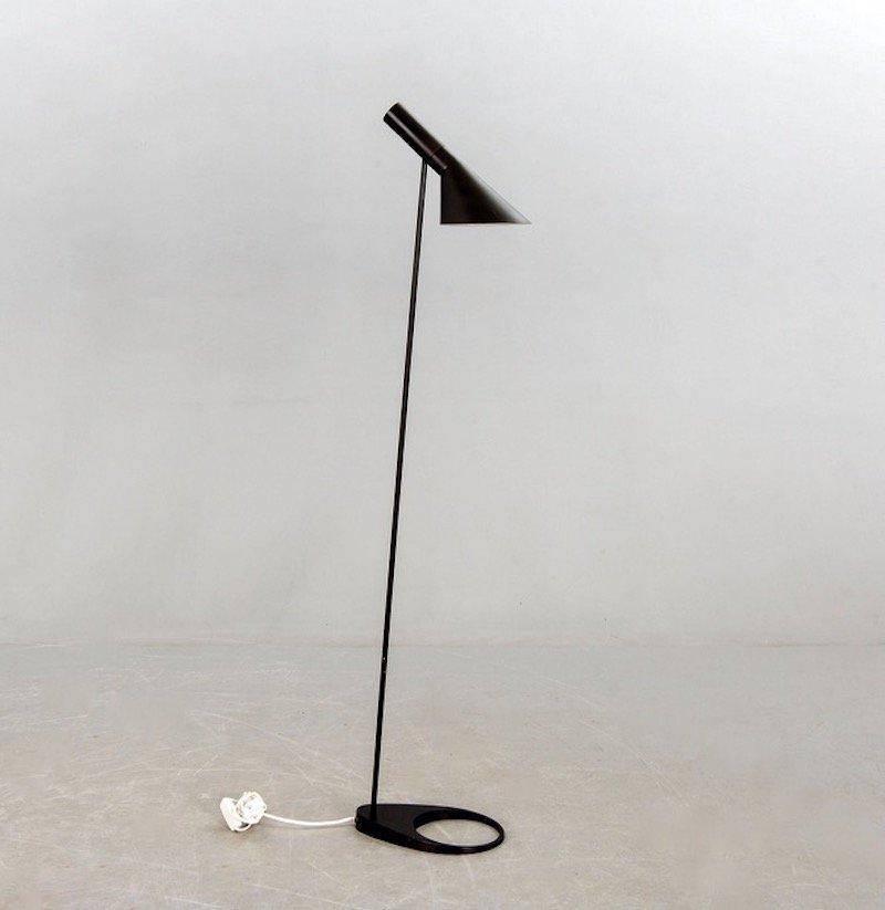 Vintage AJ Visor Standleuchte von Arne Jacobsen für Louis Poulsen