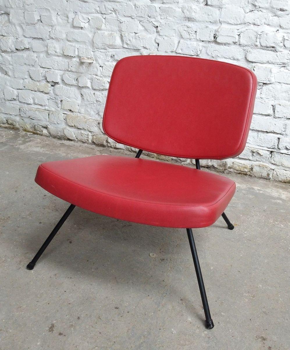 CM 190 Sessel von Pierre Paulin für Thonet, 1950er