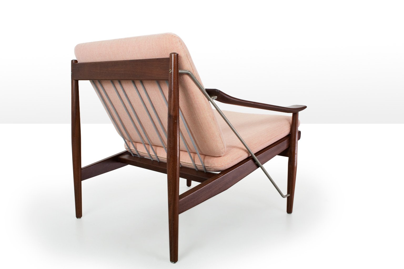 danish modern lounge chair in teak 1950s for sale at pamono. Black Bedroom Furniture Sets. Home Design Ideas