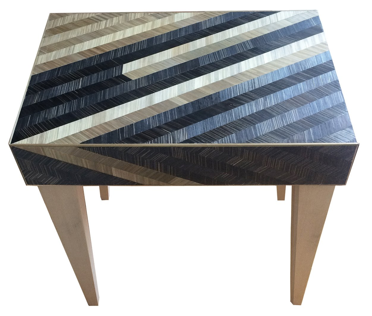 Chevron Occasional Table By Violeta Galan