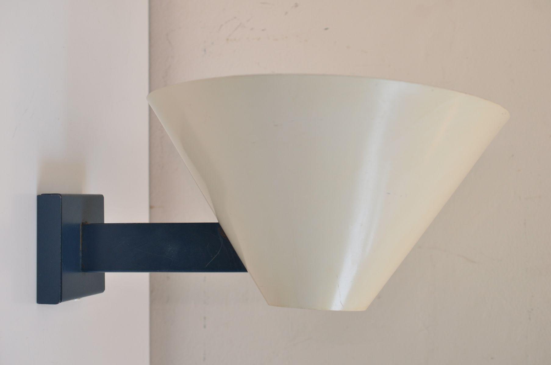 Vintage Wandlampen von J. J. M. Hoogervorst für Anvia, 2er Set