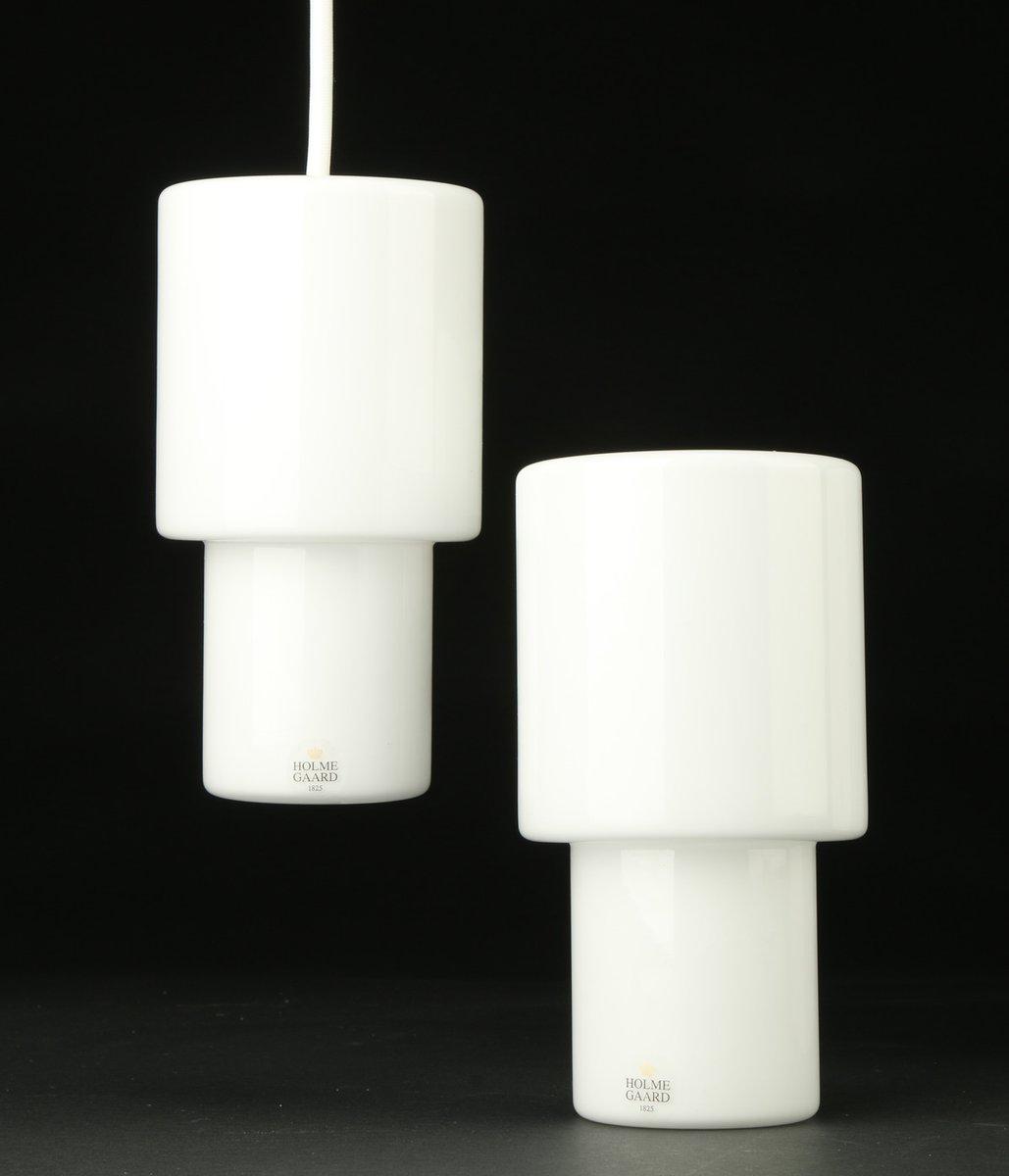 Vintage Two-Way Hängelampen von Halskov & Dalsgaard für Holmegaard, 2e...
