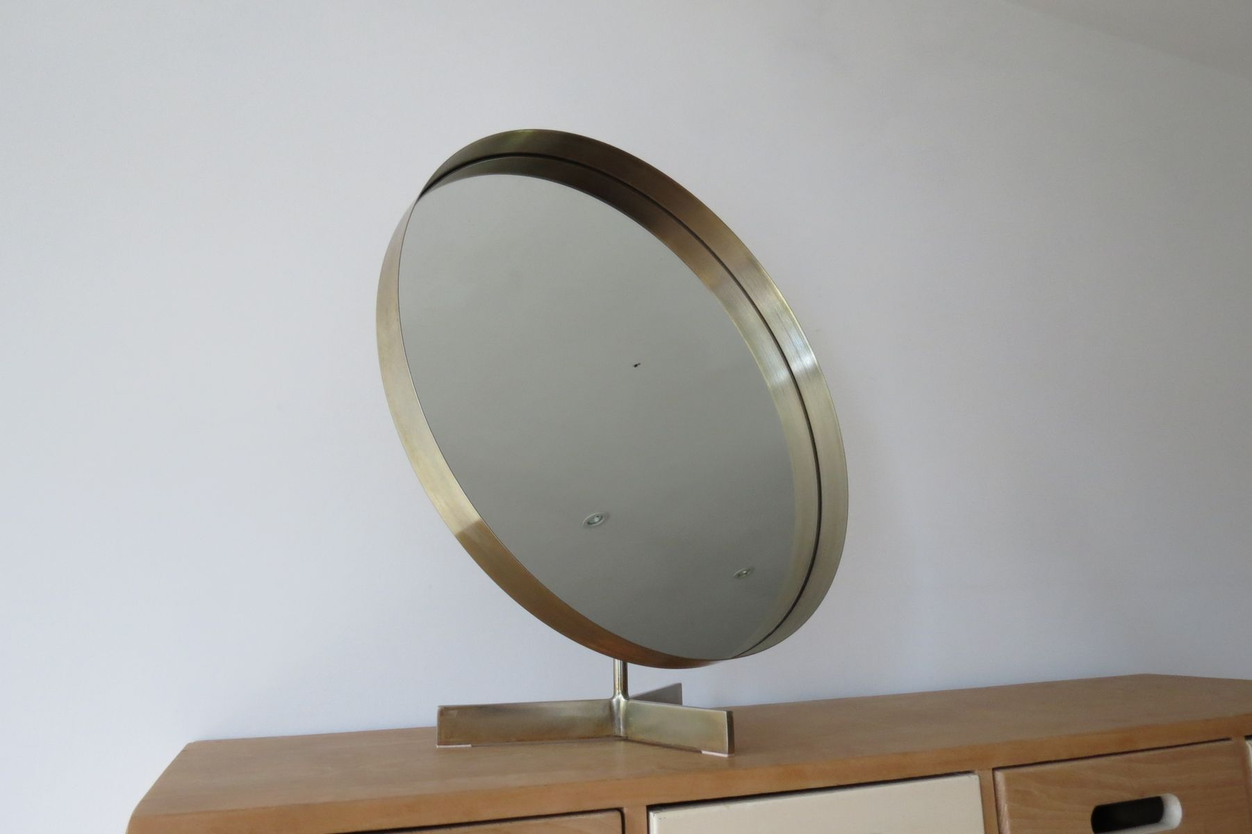 Large Freestanding Mirror By Robert Welch For Durlston 1960s