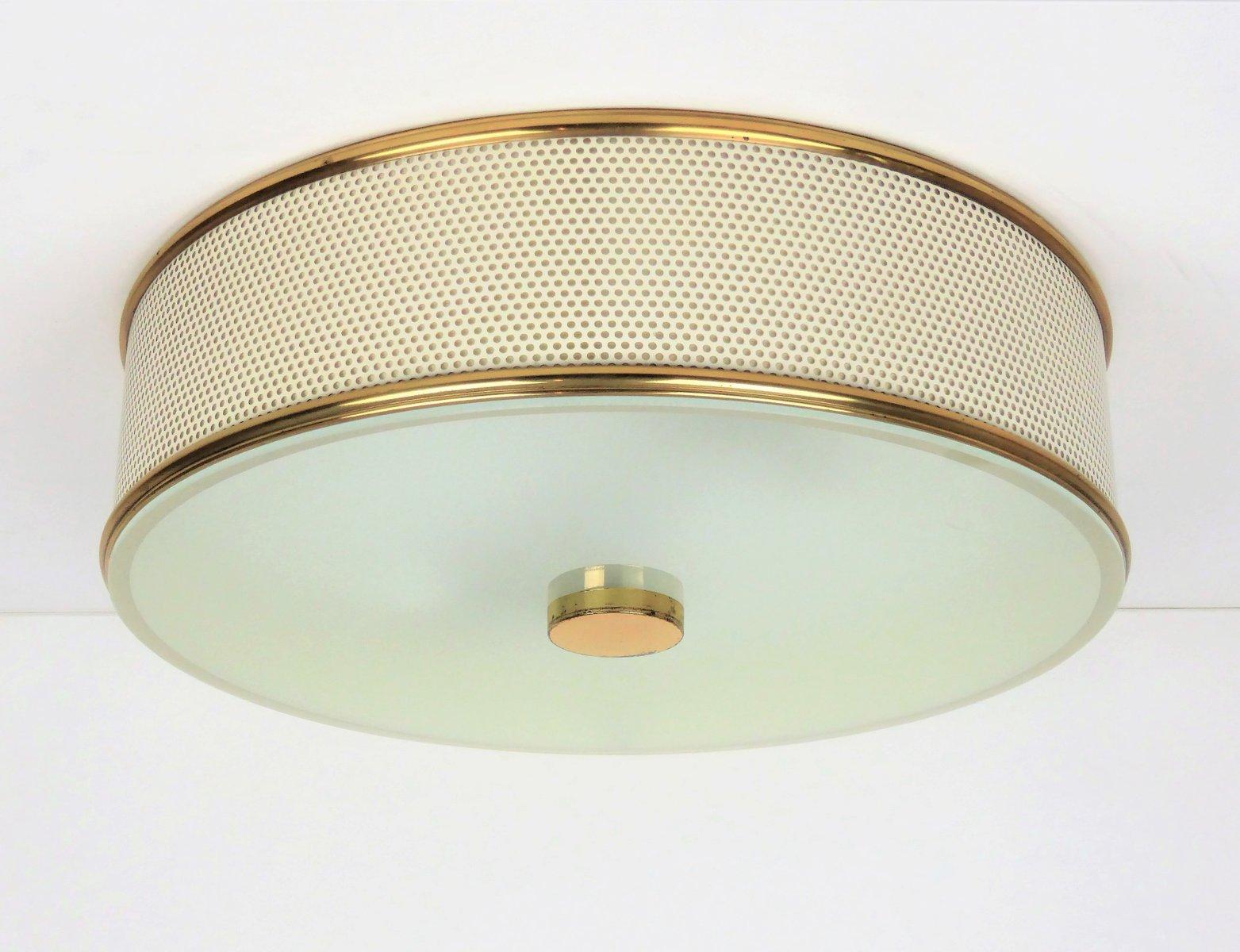 Große Deckenlampe von Pierre Guariche, 1950er