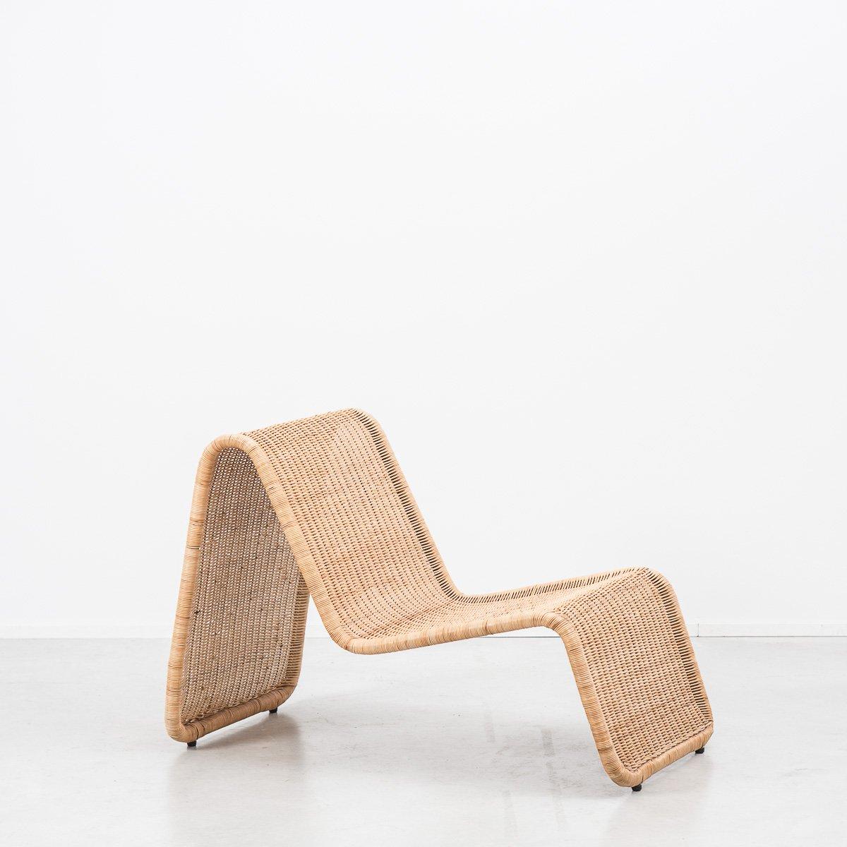 P3 Rattan Sessel von Tito Agnoli für Pierantonio Bonacina, 1960er | Wohnzimmer > Sessel > Rattansessel | Rattan | Pierantonio Bonacina