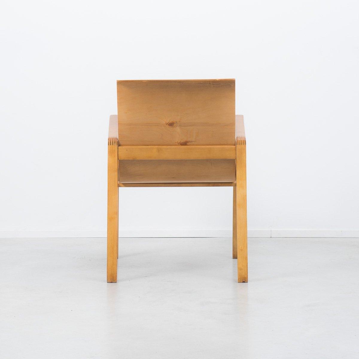 403 hallway chair von alvar aalto f r finmar bei pamono kaufen. Black Bedroom Furniture Sets. Home Design Ideas