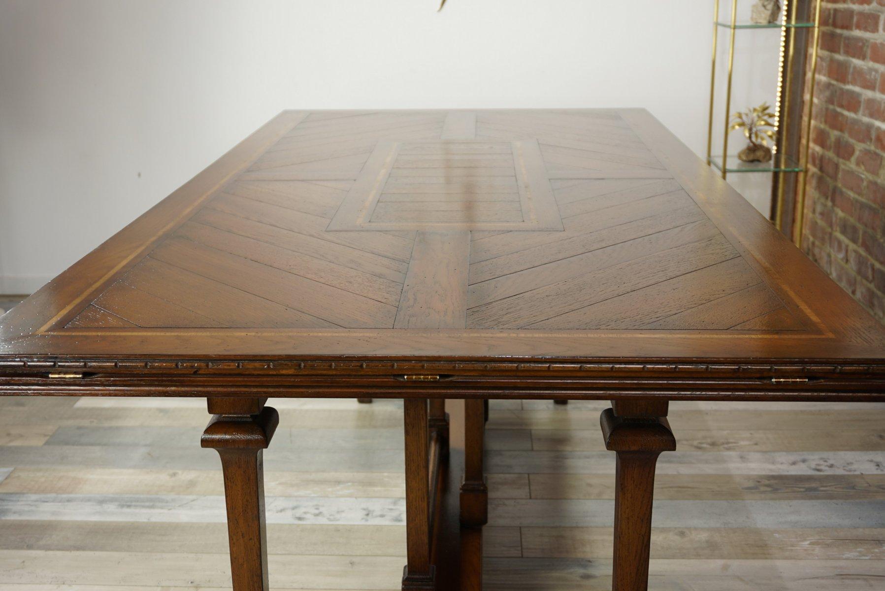 Table de salle manger vintage en bois 1940s en vente sur pamono for Table en bois de salle a manger