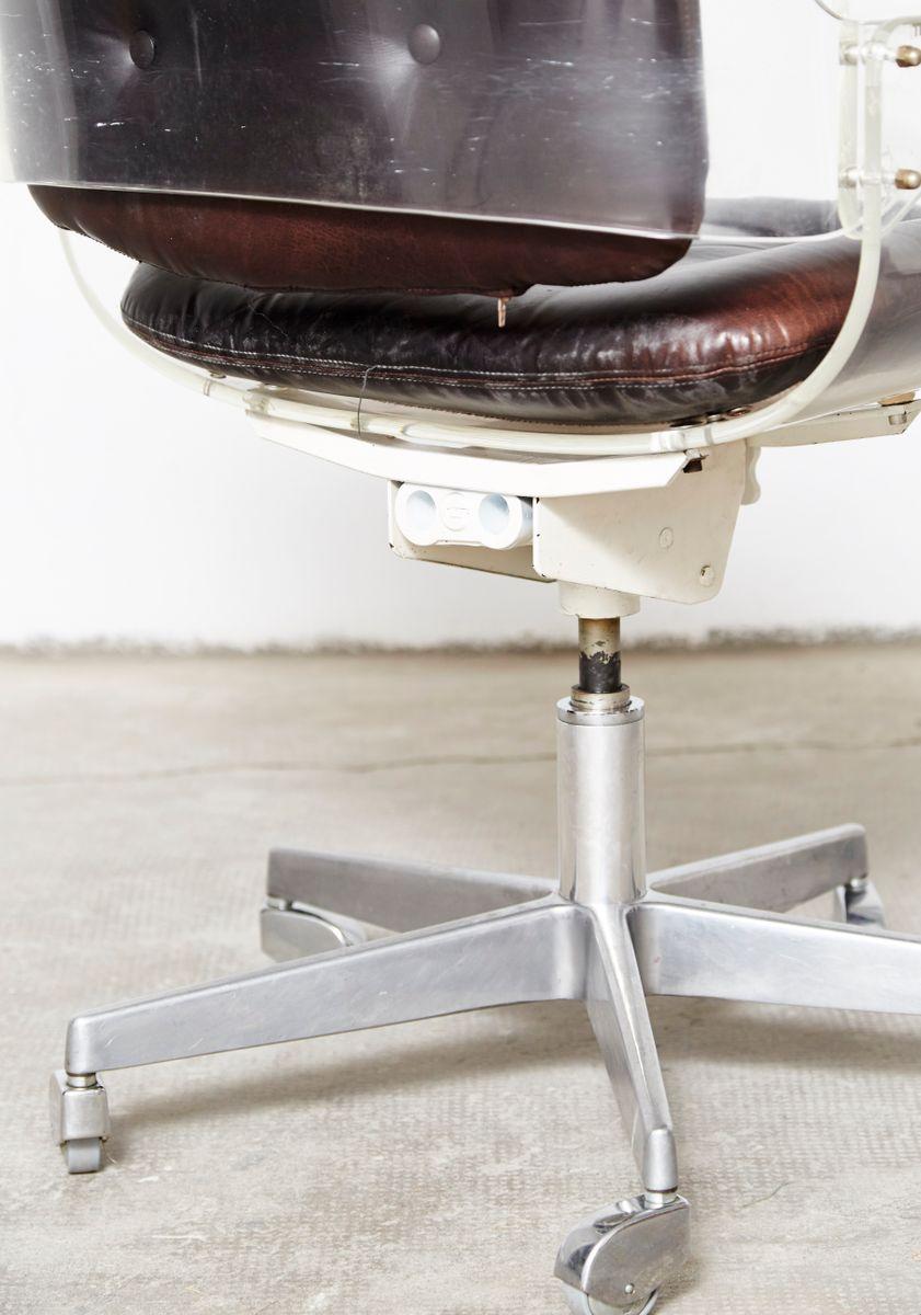chaise de bureau d49 vintage par hans k necke pour tecta en vente sur pamono. Black Bedroom Furniture Sets. Home Design Ideas