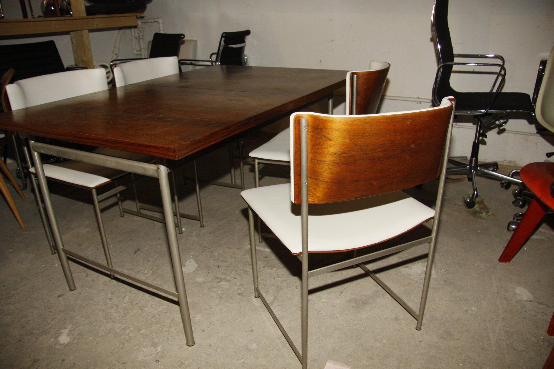 Esszimmer Set Von Cees Braakman Fur Pastoe 1960er Bei Pamono Kaufen