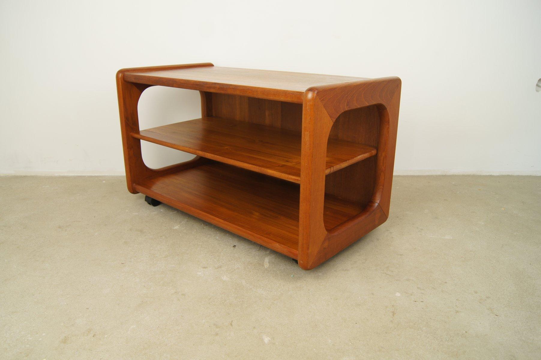 d nischer mid century teak beistelltisch von toften m bel 1960er bei pamono kaufen. Black Bedroom Furniture Sets. Home Design Ideas