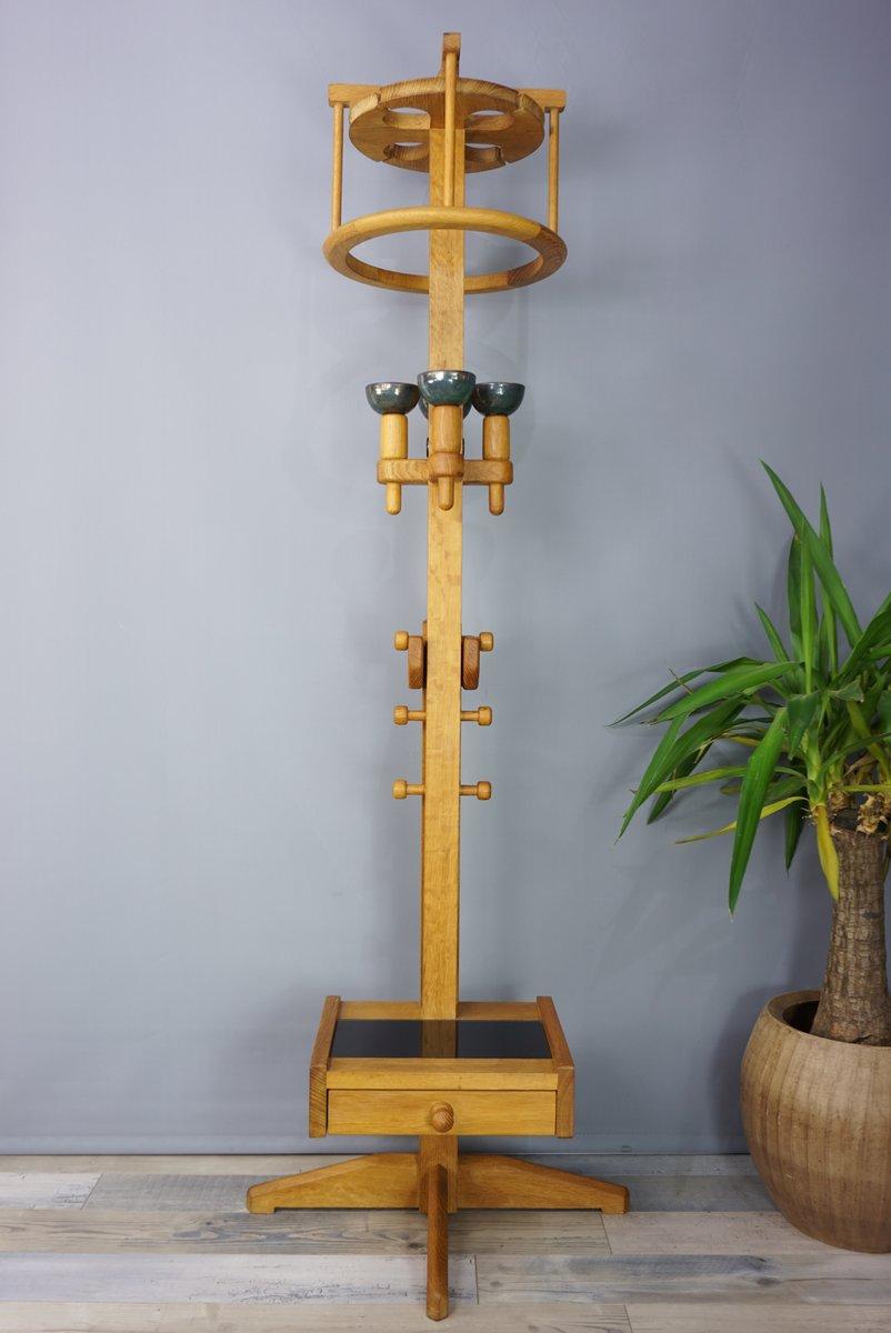 Grisette Stehlampe aus Eiche von Guillerme et Chambron für Votre Maiso...