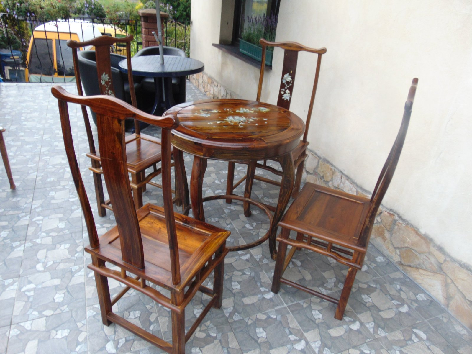 Vintage Coffee Table Chairs For Sale At Pamono - Coffee table with 4 chairs