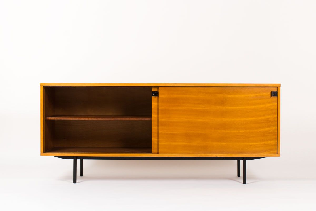 cb434b4f0fd French 196 Sideboard by Alain Richard for Meubles TV