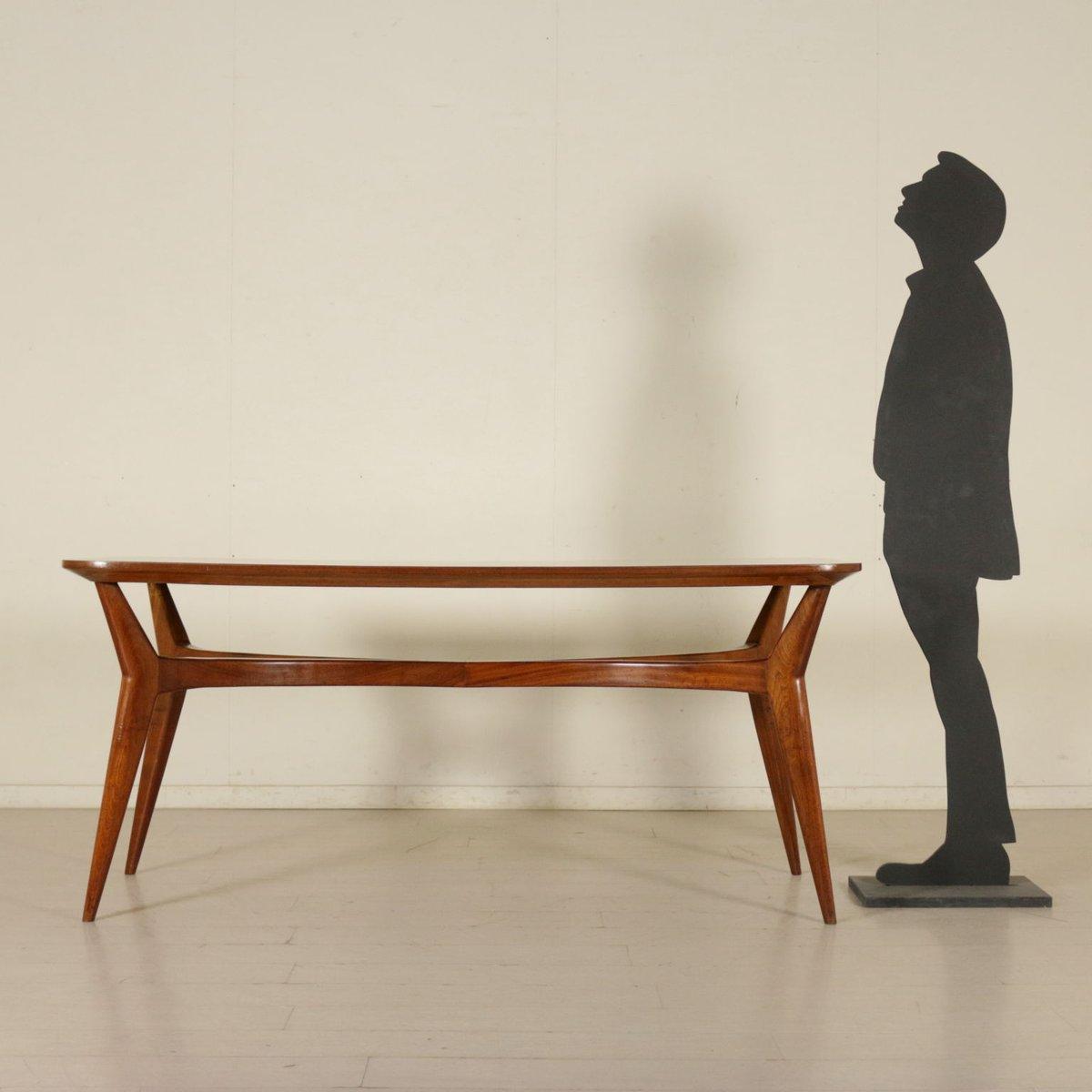 Tavolo in faggio tinto e legno di formica, Italia, anni \'50 in ...