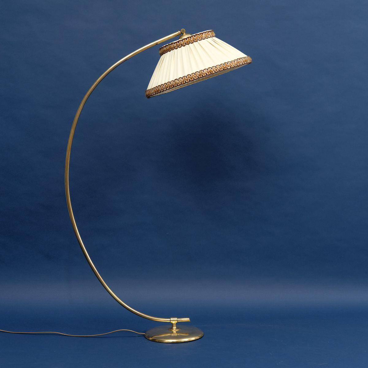 Messing Bogenlampe, 1950er