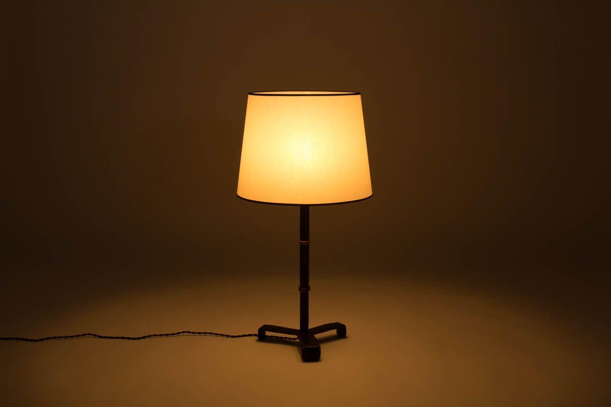 lampe de bureau par jacques adnet france 1950s en vente sur pamono. Black Bedroom Furniture Sets. Home Design Ideas