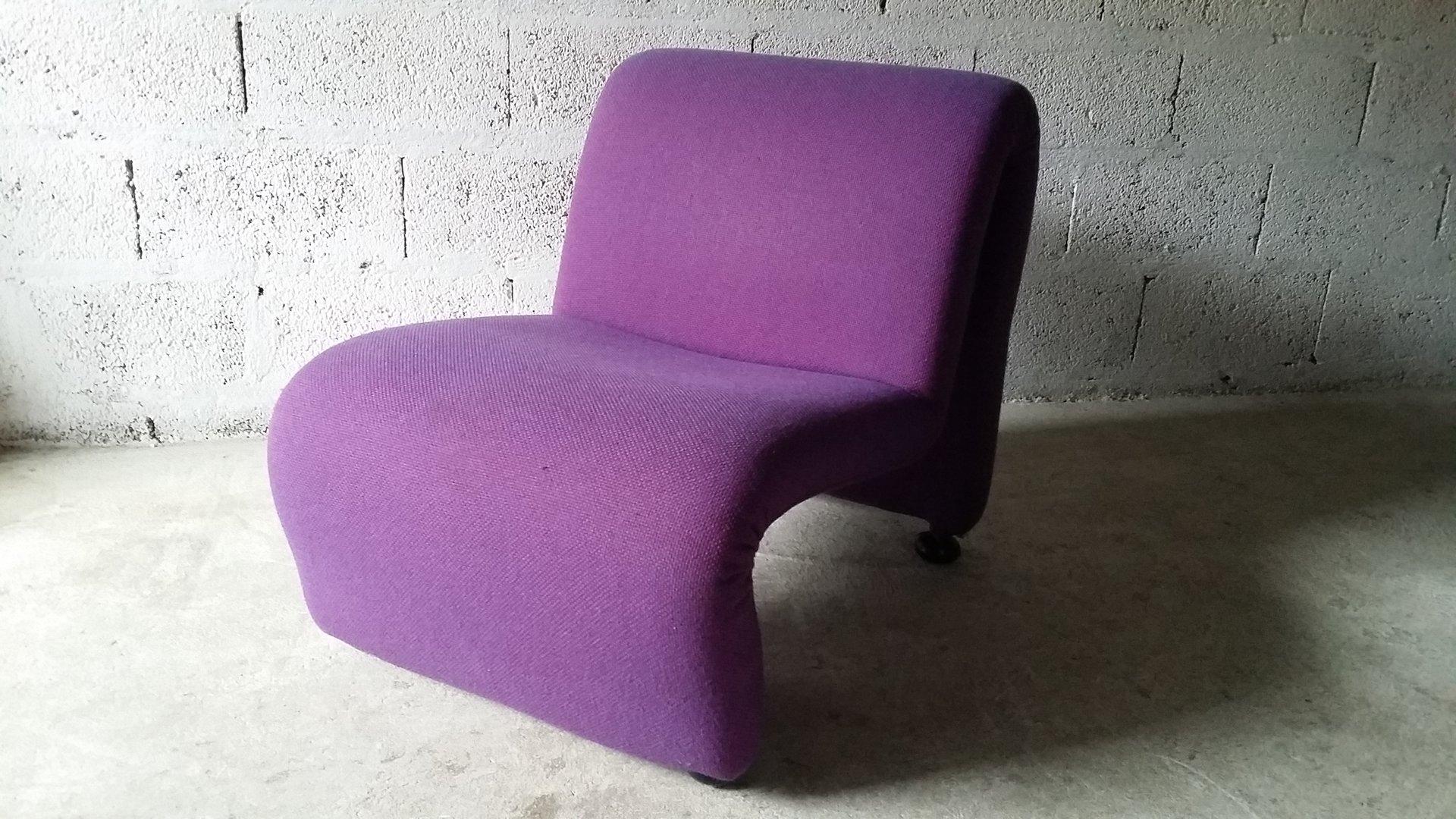 Vintage Sessel von Etienne Fermigier, 1970er