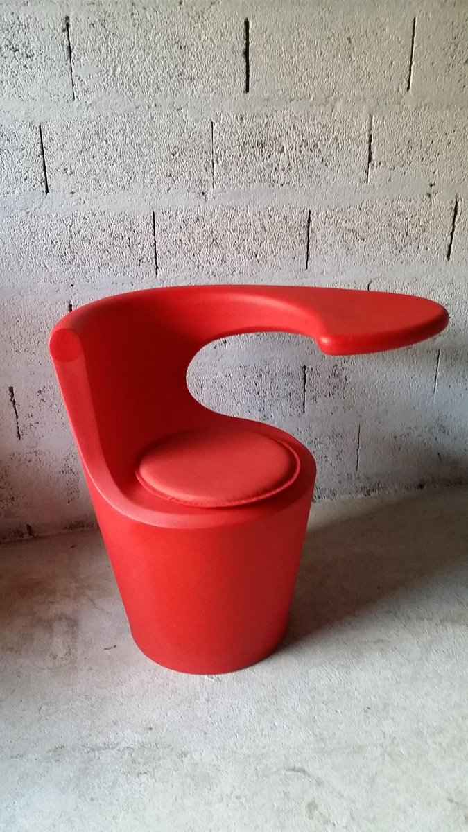 Italienischer Sessel und Tisch von Sottsass Memphis De Lucchi Comos, 1...