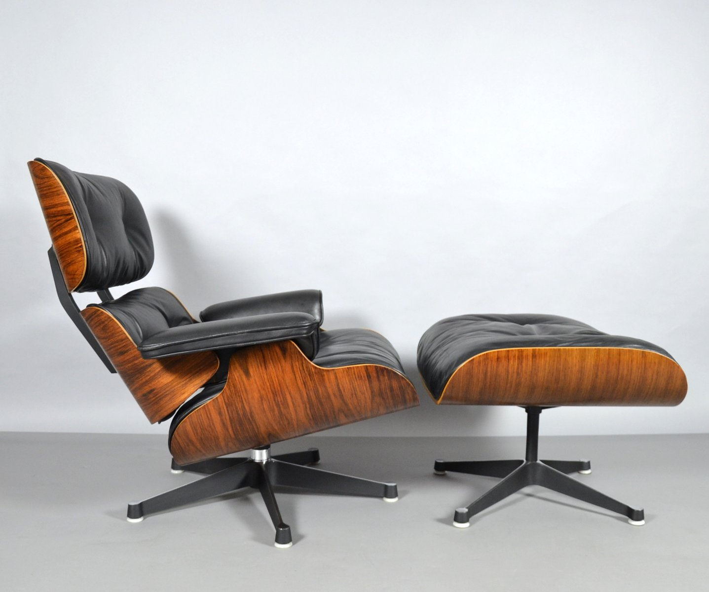 Lounge Chair Ottoman By Charles Ray Eames For Vitra 1960s For