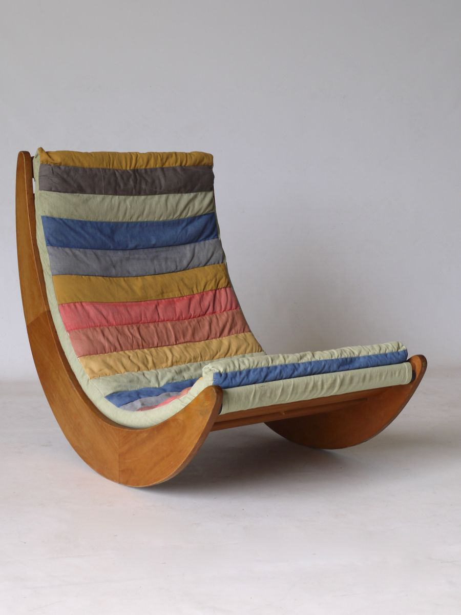relaxer rocking chair by verner panton for rosenthal 1974 for sale