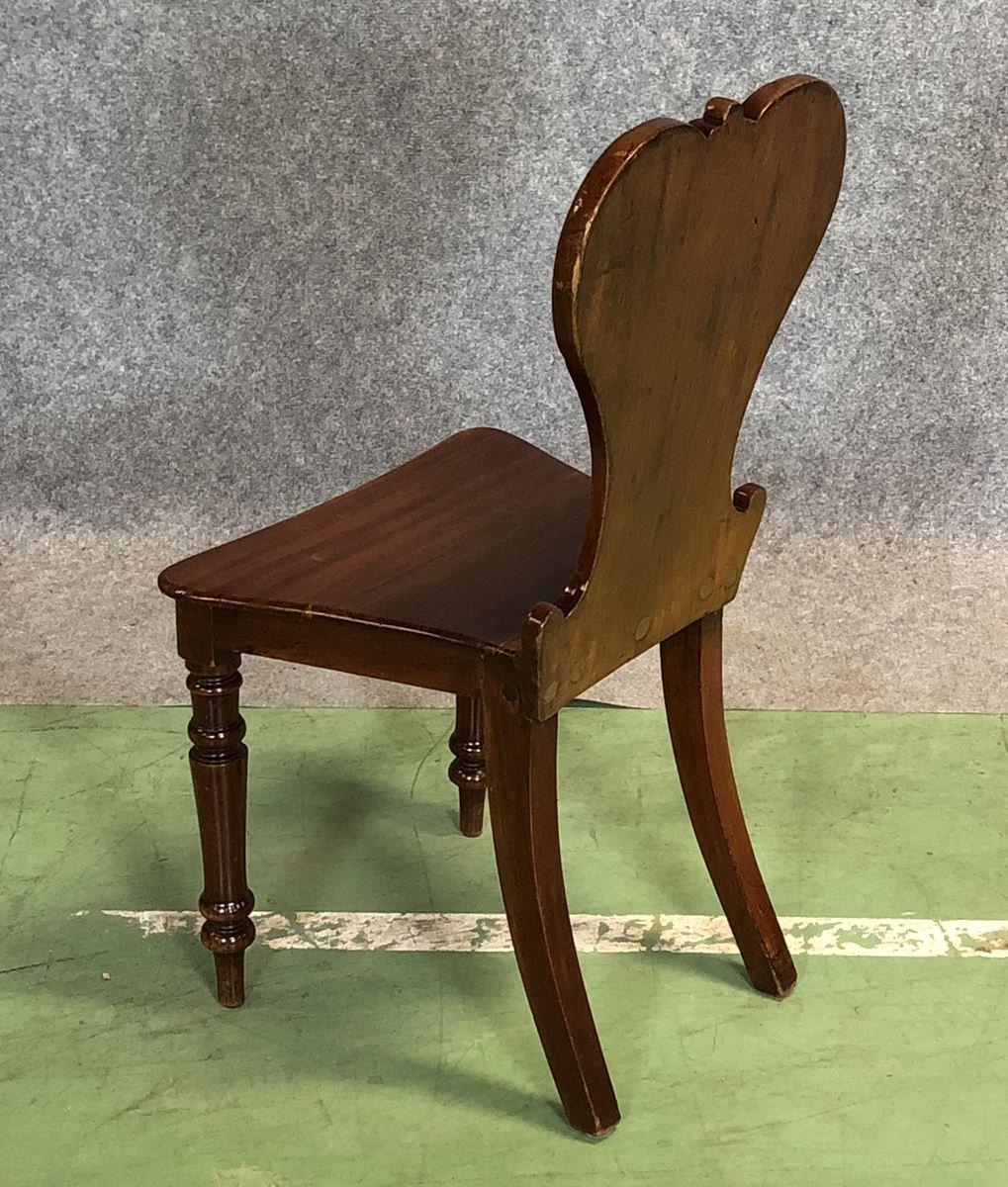 antiker mahagoni stuhl bei pamono kaufen. Black Bedroom Furniture Sets. Home Design Ideas