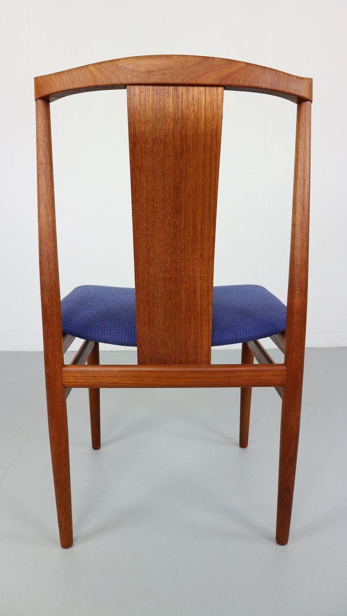 skandinavische teak st hle von henning s rensen 1968 6er set bei pamono kaufen. Black Bedroom Furniture Sets. Home Design Ideas