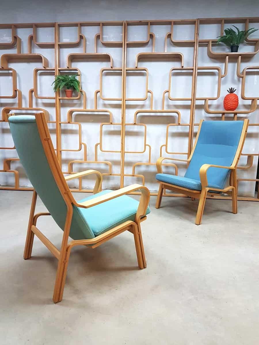 d nische vintage sessel von hans j wegner 1950er 2er set bei pamono kaufen. Black Bedroom Furniture Sets. Home Design Ideas