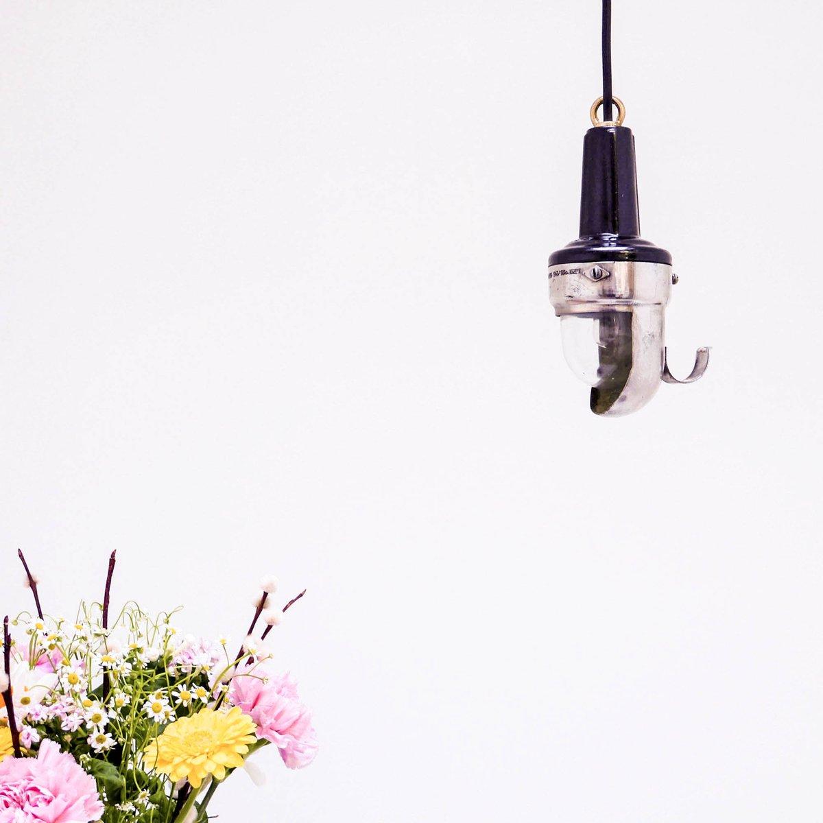Kleine tragbare Lampe von CCCP, 1950er