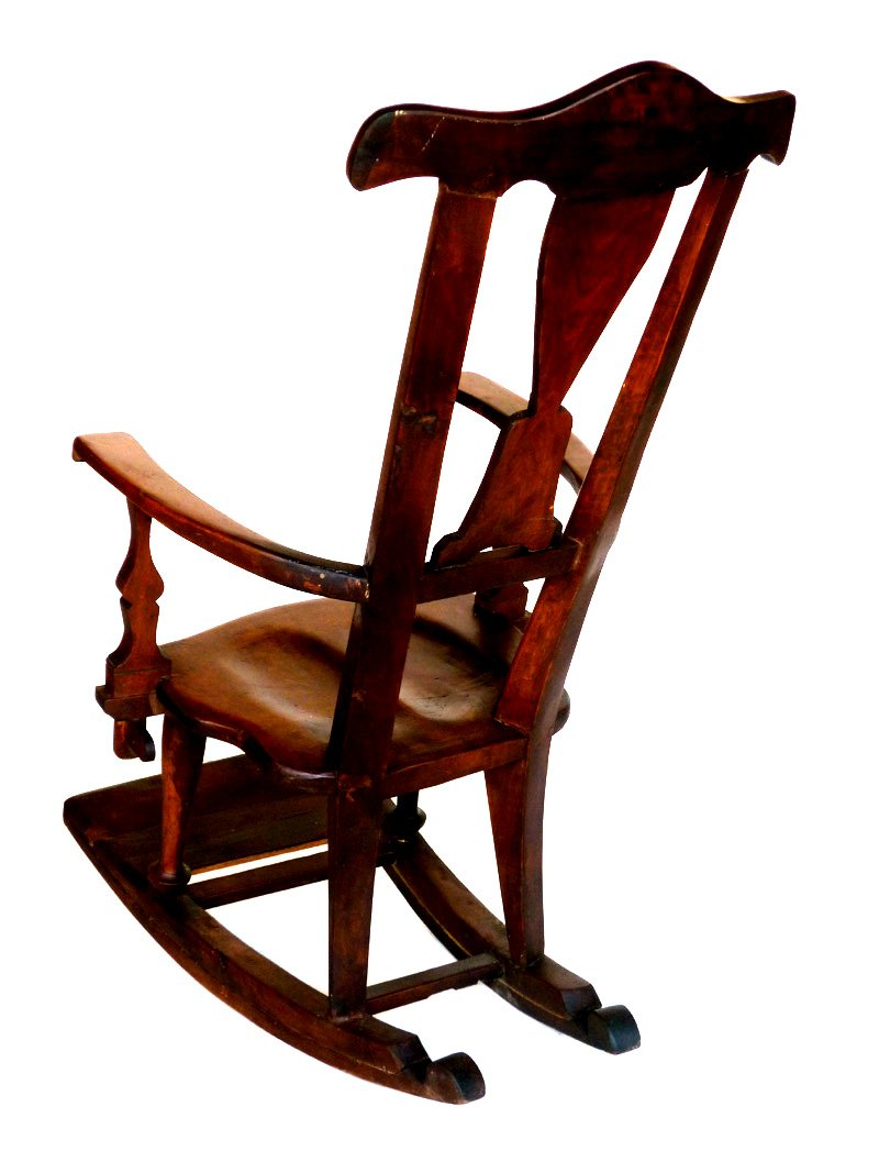 antique secessionist rocking chair for sale at pamono. Black Bedroom Furniture Sets. Home Design Ideas