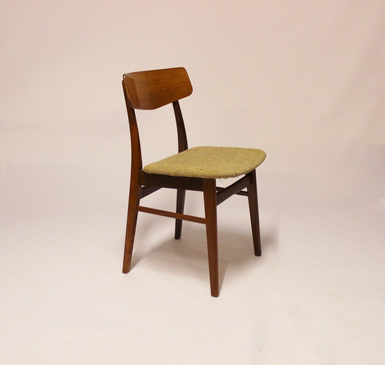 d nischer teak stuhl 1960er bei pamono kaufen. Black Bedroom Furniture Sets. Home Design Ideas