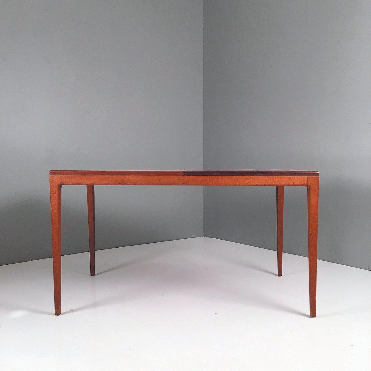 Ausziehbarer Esstisch von Georg Leowald für Wilkhahn, 1950er