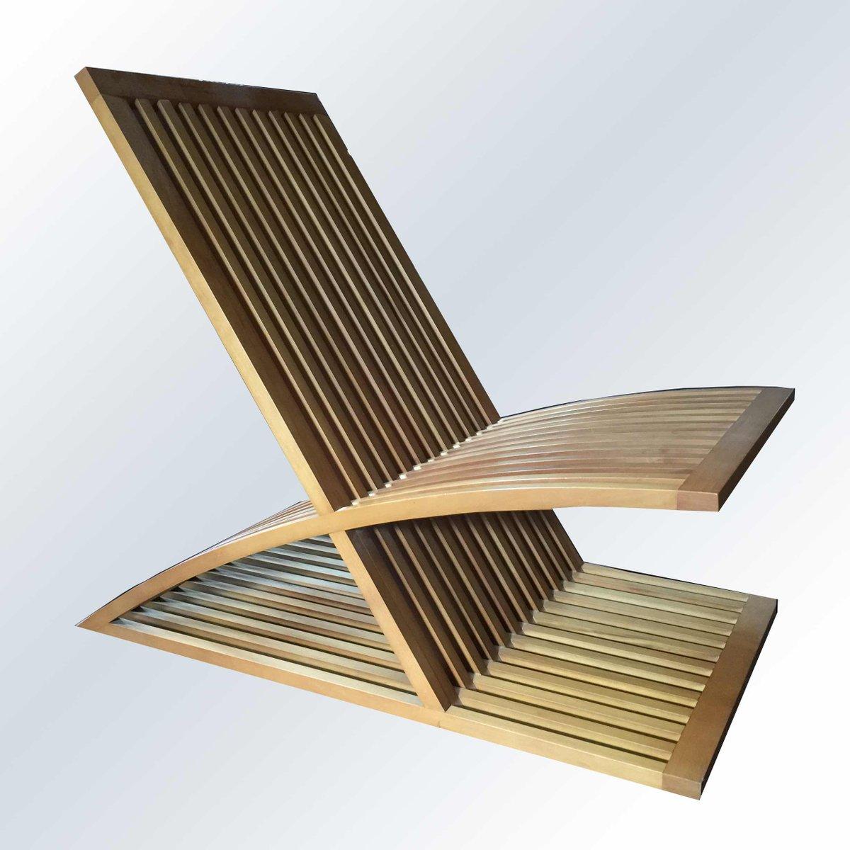 Triclinia lounge chair by masao noguchi for meccani for Martini arredamenti ribolla