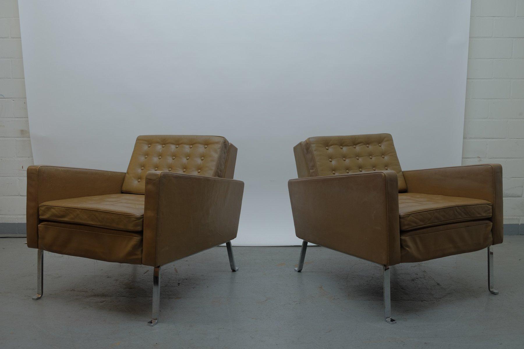 Sessel von Roland Rainer lounge für Wilkhahn, 1950er, 2er Set