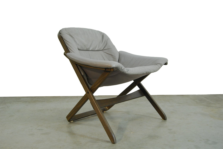 Swedish Chair By Göte Möbel, 1980s