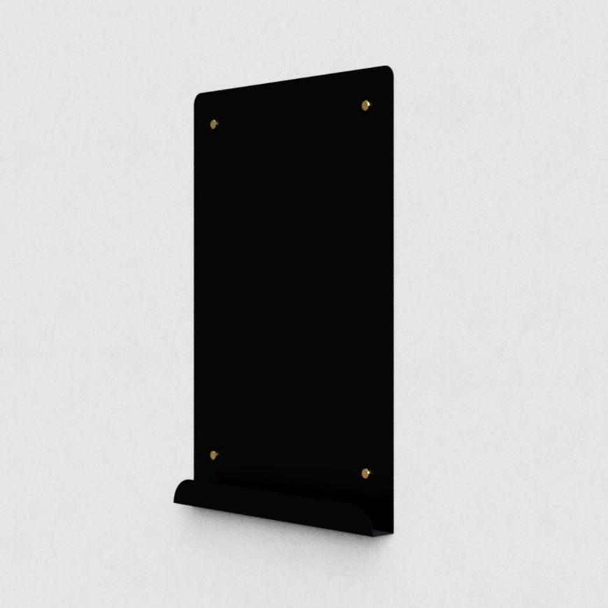 tableau d 39 affichage myosotis portrait magn tique noir par richard bell pour psalt design 2012. Black Bedroom Furniture Sets. Home Design Ideas
