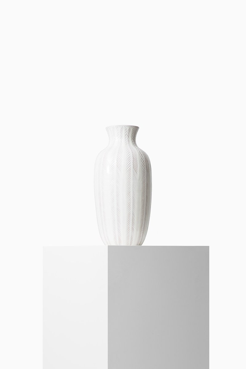 Ceramic Floor Vase By Anna Lisa Thomson For Upsala Ekeby 1950s For