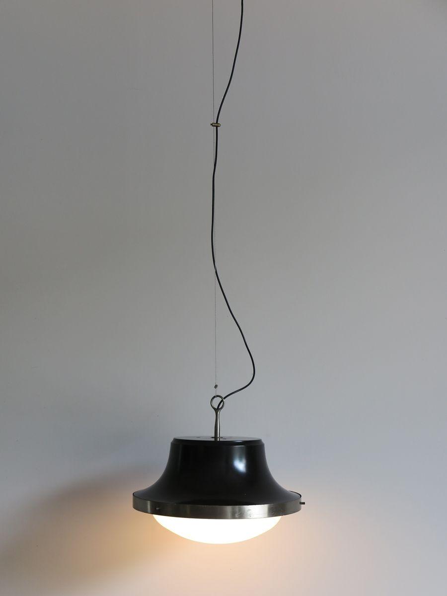 lampe à suspension tau par sergio mazza pour artemide, 1960s en