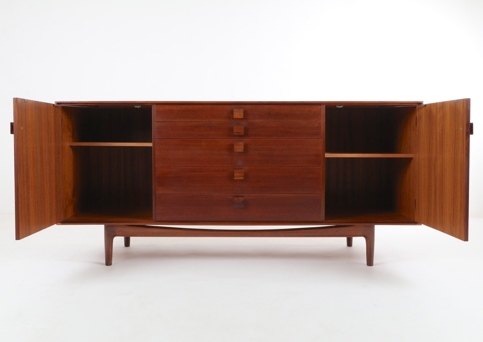 d nisches teak sideboard von ib kofod larsen f r g plan 1960er bei pamono kaufen. Black Bedroom Furniture Sets. Home Design Ideas
