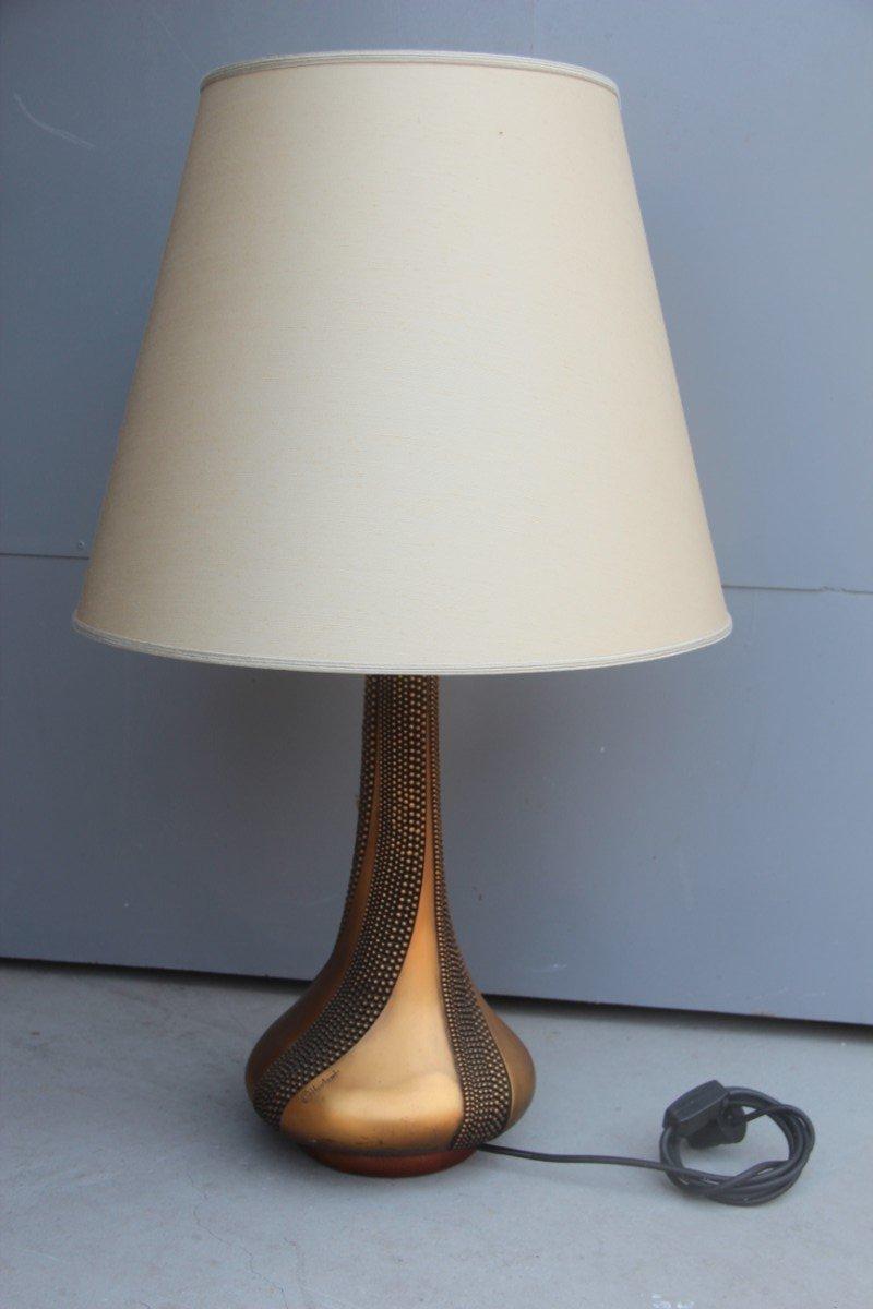 Italienische Tischlampe von Giovanni Ottaviani, 1960er