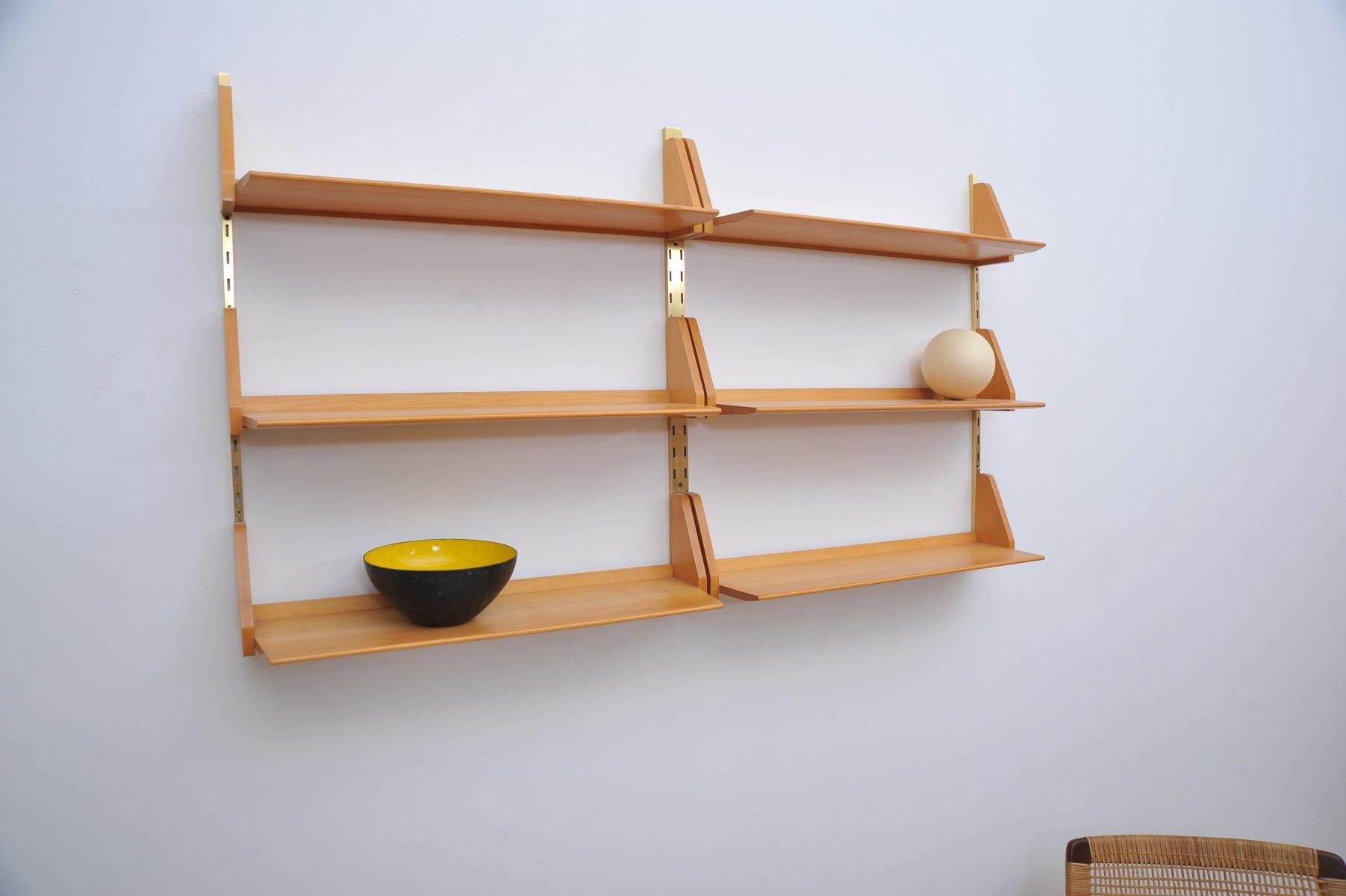 mid century modell wk192 wandregal von dieter reinhold f r. Black Bedroom Furniture Sets. Home Design Ideas