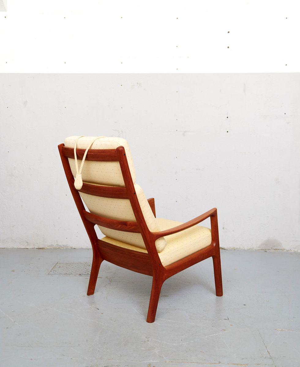 vintage senator sessel ottomane beistelltisch von ole wanscher f r cado bei pamono kaufen. Black Bedroom Furniture Sets. Home Design Ideas