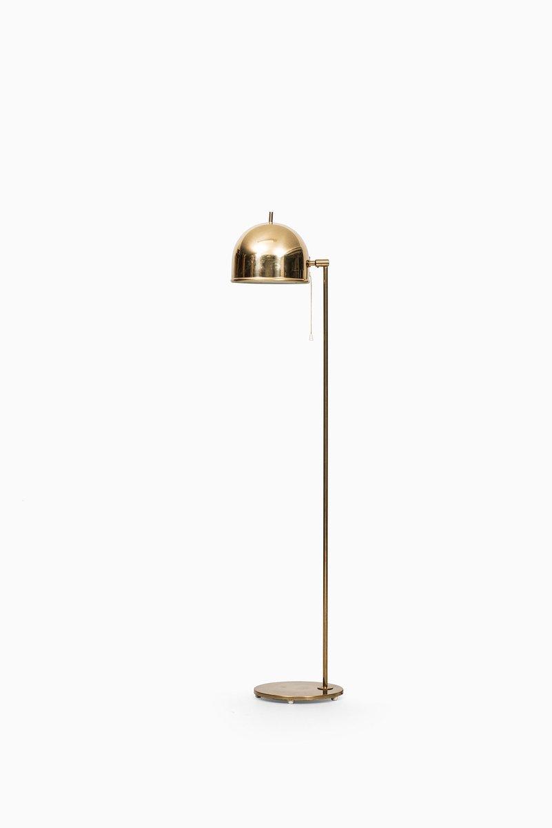 Schwedische Mid-Century Stehlampe von Bergboms, 1950er