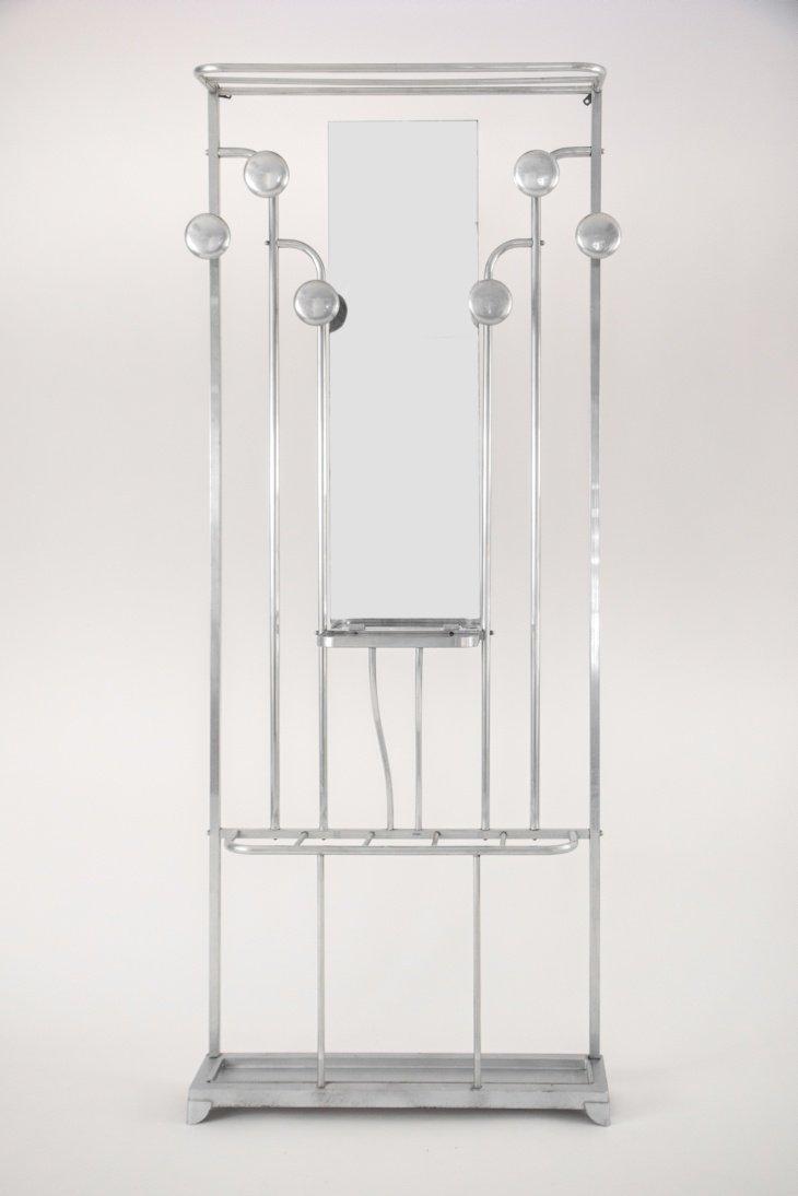 porte manteau art d co avec porte parapluie en vente sur pamono. Black Bedroom Furniture Sets. Home Design Ideas