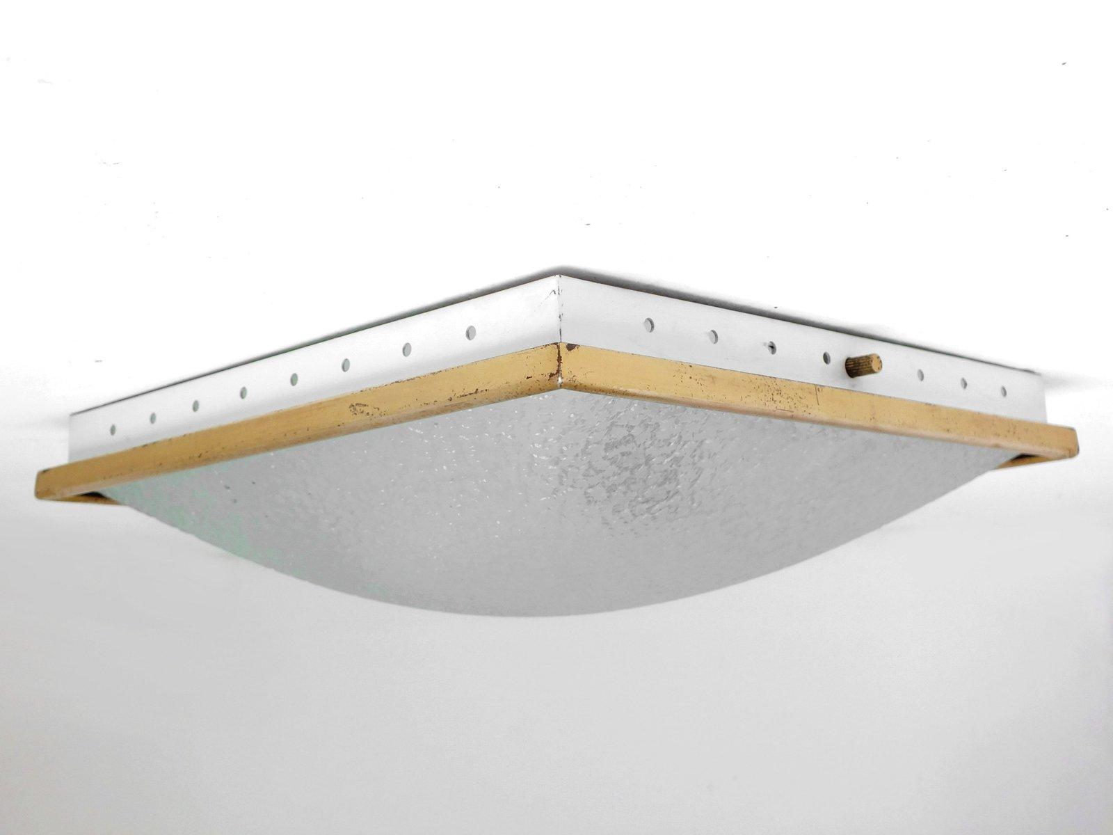 Wand- oder Deckenlampe von Fontana Arte, 1950er